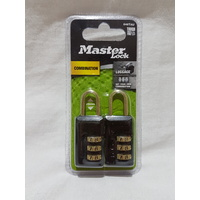 Master Lock - Combination - 2 Pack - 22mm -- 646TAU