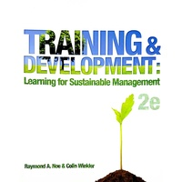 Training and Development 2e