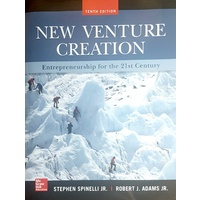 New Venture Creation Tenth Edition
