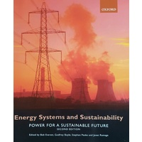 Energy Systems and Sustainability Second Edition