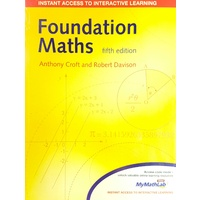 Foundation Maths + MyMathLab online access