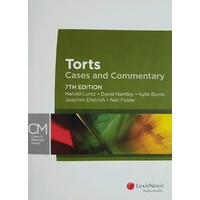 Torts Cases and Commentary 7th Edition
