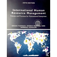 International Human Resource Management Fifth Edition