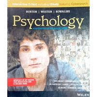 Psychology (Au) 4E Wiley E-Text with istudy and Cyberpsych Card