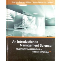 An Introduction to Management Science 4e