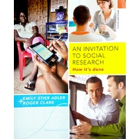 An Invitation to Social Research Fifth Edition