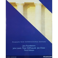 Java Foundations Third Edition