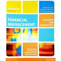 Financial Management 5th Edition REVISED