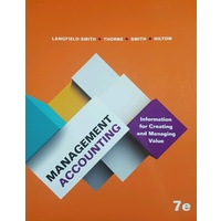 Management Accounting 7e