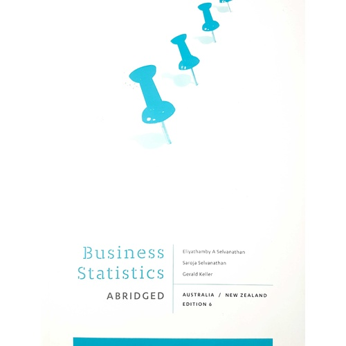 Business Statistics - Abridged : Australia New Zealand