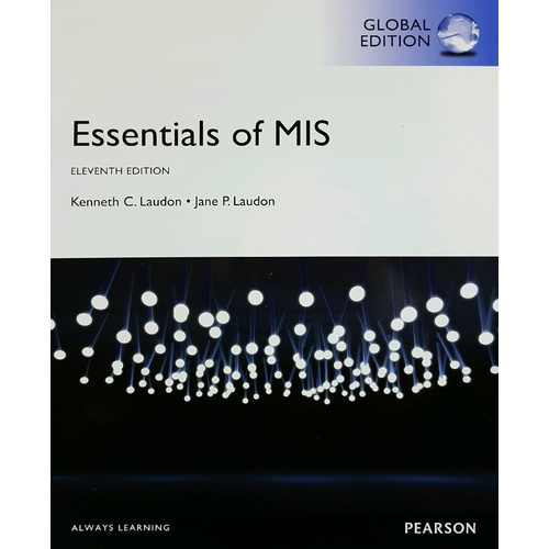 Essential of MIS Eleventh Edition